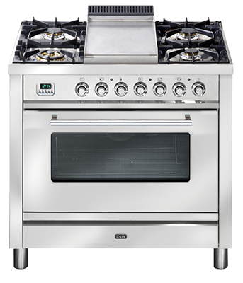 <span>PW90FMP - QUADRA SERIES</span>Gas cooktop with Tepanyaki Plate
