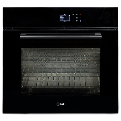 <span>760SPYTCBV - Black Glass</span>76cm Pyrolytic Built-in Oven