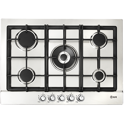 <span>72cm Gas cooktop</span>5 burner