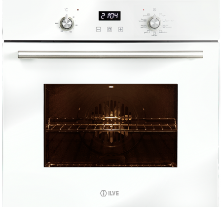 <span>multifunction electric oven</span>60cm white glass