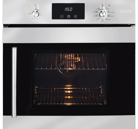 <span>60CM BUILT-IN OVEN</span>SIDE OPENING DOOR