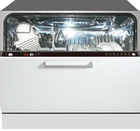 <span>Fully-Integrated </span>Compact Dishwasher