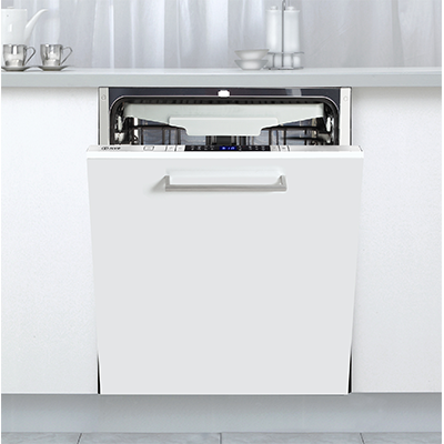 <span>Fully Integrated Dishwasher</span>with 15 place setting & 8 wash programs