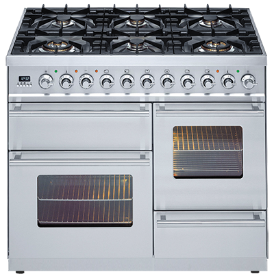<span>PTW1006MP - Quadra Series</span>100cm Double Electric Oven