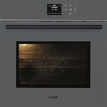 <span>600SPYTCGV - GRIGIO LUSSO</span>60CM PYROLYTIC OVEN