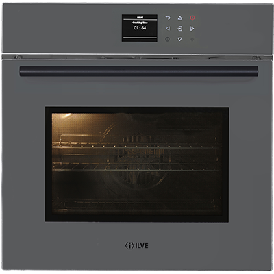 <span>GRIGIO LUSSO - 600SPYTCGV</span>60CM PYROLYTIC OVEN