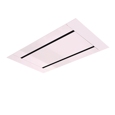 <span>CEILING MOUNT RANGE HOOD</span>WITH REMOTE CONTROL OPERATION