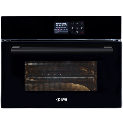 <span>COMBINATION MICROWAVE OVEN</span>60CM BLACK GLASS
