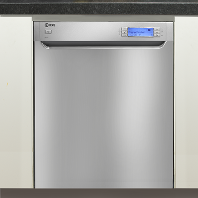 <span>BUILT-IN DISHWASHER</span>WITH 15 PLACE SETTINGS & 10 WASH PROGRAMS