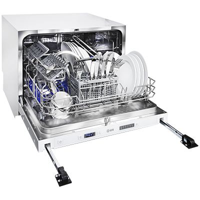 <span>FULLY INTEGRATED DISHWASHER</span>COMPACT BUILT-IN
