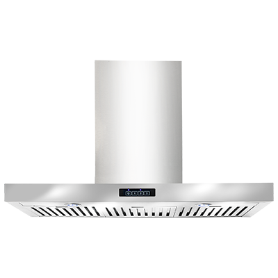 <span>canopy rangehood</span>90cm wide stainless steel