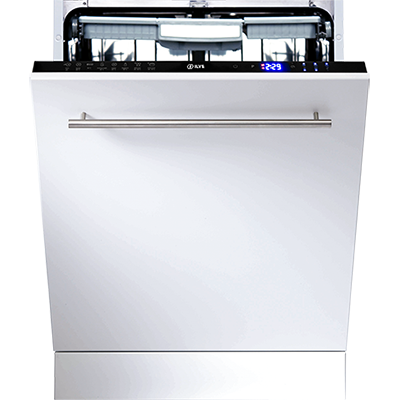<span>FULLY INTEGRATED DISHWASHER</span>WITH 15 PLACE SETTINGS & 8 WASH PROGRAMS