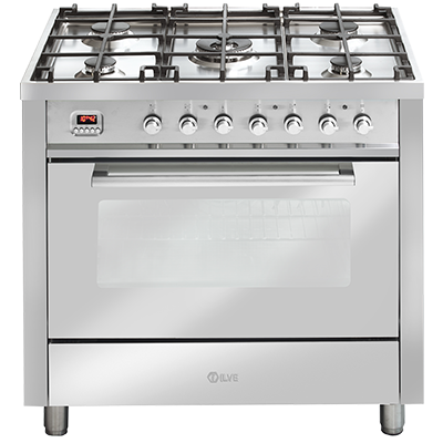 <span>90cm freestanding cooker</span>with Programmable digital timer