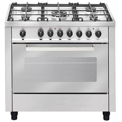 <span>90cm freestanding cooker</span>with 60 minute bell timer