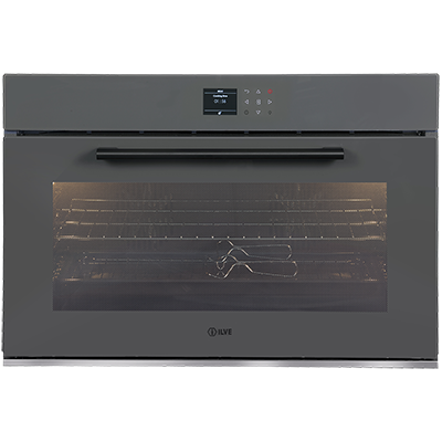 <span>90CM BUILT-IN ELECTRIC OVEN</span>Grigio Lusso Serie