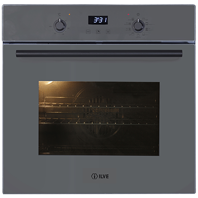 <span>60CM ELECTRIC BUILT-IN OVEN</span>Grigio Lusso Serie